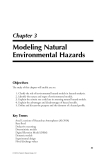 Natural Hazards Analysis - Chapter 3