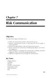 Natural Hazards Analysis - Chapter 7
