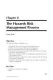 Natural Hazards Analysis - Chapter 8