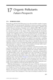 ORGANIC POLLUTANTS: An Ecotoxicological Perspective - Chapter 17 (end)