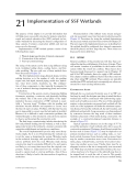TREATMENT WETLANDS - CHAPTER 21