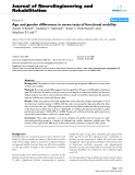"""báo cáo hóa học: """" Age and gender differences in seven tests of functional mobility"""""""