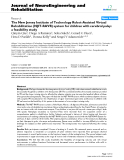 """báo cáo hóa học: """"The New Jersey Institute of Technology Robot-Assisted Virtual Rehabilitation (NJIT-RAVR) system for children with cerebral palsy: a feasibility study """""""