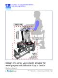 "Báo cáo hóa học: ""  Design of a series visco-elastic actuator for multi-purpose rehabilitation haptic device"""
