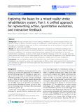 "Báo cáo hóa học: ""  Exploring the bases for a mixed reality stroke rehabilitation system, Part I: A unified approach for representing action, quantitative evaluation, and interactive feedback"""