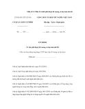 Mẫu số 9.3 Mẫu Tờ trình phê duyệt đề cương và dự toán chi tiết