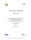Đềtéctơ Quang học bằng Bán dẫn_Nguyễn Chí Thanh