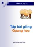 Tập bài giảng Quang học