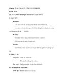 Chương IV: MẠNG MÁY TÍNH VÀ INTERNET BTTH 10