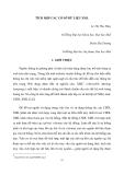 """Báo cáo nghiên cứu khoa học """" TÍCH HỢP CÁC CƠ SỞ DỮ LIỆU XML  """""""