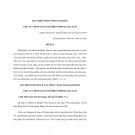 """Báo cáo nghiên cứu khoa học """" ĐẶC ĐIỂM TRẦM TÍCH KAINOZOI KHU VỰC ĐỒNG BẰNG VEN BIỂN TỈNH QUẢNG NAM  """""""