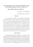 """Báo cáo nghiên cứu khoa học """" MỘT SỐ KHÓ KHĂN VỀ ĐẦU TƯ TRANG THIẾT BỊ PHỤC VỤ HOẠT ĐỘNG KINH DOANH DỊCH VỤ TRONG CÁC HỢP TÁC XÃ NÔNG NGHIỆP Ở TỈNH THỪA THIÊN HUẾ """""""