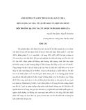 """Báo cáo nghiên cứu khoa học """" ẢNH HƯỞNG CỦA MỨC BỔ SUNG BÃ SẮN Ủ CHUA ĐẾN LƯỢNG ĂN VÀO, TỶ LỆ TIÊU HOÁ VÀ MỘT SỐ CHỈ SỐ MÔI TRƯỜNG DẠ CỎ CỦA CỪU ĐƯỢC NUÔI BẰNG RƠM LÚA """""""
