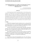 """Báo cáo nghiên cứu khoa học """" ĐẶC TÍNH DINH DƯỠNG CỦA CÁ SỈNH GAI (ONYCHOSTOMA LATICEPS GUNTHER, 1896) TẠI HỒ PHÚ NINH VÀ VÙNG PHỤ CẬN, TỈNH QUẢNG NAM """""""