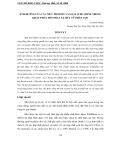 """Báo cáo nghiên cứu khoa học """"  ẢNH HƯỞNG CỦA CÁC MỨC PROTEIN VÀ LOẠI ACID AMINE TRONG KHẨU PHẦN ĐẾN PHÁT XẠ MÙI TỪ PHÂN LỢN """""""