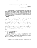 """Báo cáo nghiên cứu khoa học """" ĐÁNH GIÁ MỘT SỐ TỔ HỢP LAI CÀ CHUA CÓ TRIỂN VỌNG TRONG VỤ ĐÔNG XUÂN 2007 - 2008 TẠI THỪA THIÊN HUẾ """""""