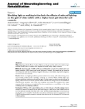 """báo cáo hóa học: """" Shedding light on walking in the dark: the effects of reduced lighting on the gait of older adults with a higher-level gait disorder and controls"""""""