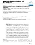 "báo cáo hóa học: "" The development of postural strategies in children: a factorial design study"""