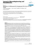 """báo cáo hóa học: """"  Modulation of walking speed by changing optic flow in persons with stroke"""""""