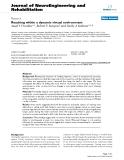 """báo cáo hóa học: """" Reaching within a dynamic virtual environment"""""""