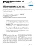 "báo cáo hóa học: ""  Simulating hemispatial neglect with virtual reality"""