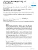 "báo cáo hóa học: ""  A biologically inspired neural network controller for ballistic arm movements"""