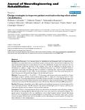"báo cáo hóa học: ""  Design strategies to improve patient motivation during robot-aided rehabilitation"""