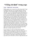 """""""Chống chỉ định"""" trong yoga"""
