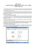 Phương pháp vẽ hình chiếu vuông góc và hình chiếu trục
