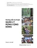 Hướng dẫn kỹ thuật quản lý rừng cộng đồng