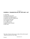 Mạch điện tử-Chương số 2