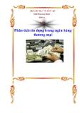Chuyên đề tốt nghiệp: Phân tích tín dụng trong ngân hàng thưong mại