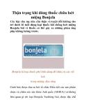 Thận trọng khi dùng thuốc chữa loét miệng Bonjela