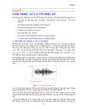 Xử lý tín hiệu-Chương 1