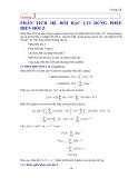 Xử lý tín hiệu-Chương 3