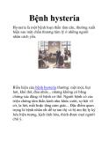 Bệnh hysteria