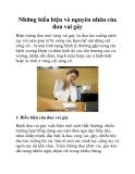 Những biểu hiện và nguyên nhân của đau vai gáy