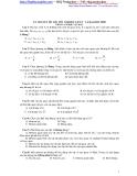 533 câu trắc nghiệm ôn thi đại học môn vật lý