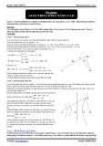Bài giảng Sóng cơ học: Giao thoa sóng nâng cao