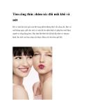 Tìm công thức chăm sóc đôi môi khô và nứt