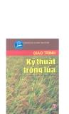 Giáo trình kỹ thuật trồng lúa part 1