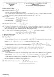 Đề thi thử đại học và cao đẳng môn toán_đề 4