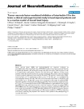 """báo cáo hóa học: """"  Tumor necrosis factor-mediated inhibition of interleukin-18 in the brain: a clinical and experimental study in head-injured patients and in a murine model of closed head injury."""""""