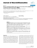 """báo cáo hóa học: """" Human oligodendroglial cells express low levels of C1 inhibitor and membrane cofactor protein mRNAs"""""""