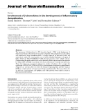 "báo cáo hóa học: ""  Involvement of β-chemokines in the development of inflammatory demyelination"""