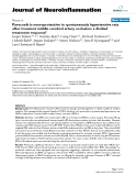 "báo cáo hóa học: "" Parecoxib is neuroprotective in spontaneously hypertensive rats after transient middle cerebral artery occlusion: a divided treatment response?"""