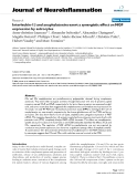 """báo cáo hóa học: """" Interleukin-1β and anaphylatoxins exert a synergistic effect on NGF expression by astrocytes"""""""
