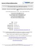"báo cáo hóa học: ""  Interleukin-1 beta and neurotrophin-3 synergistically promote neurite growth in vitro"""