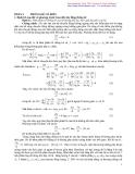 Vật lý thống kê - Thống kê cổ điển