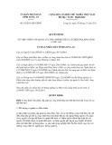 Quyết định số 54/2011/QĐ-UBND